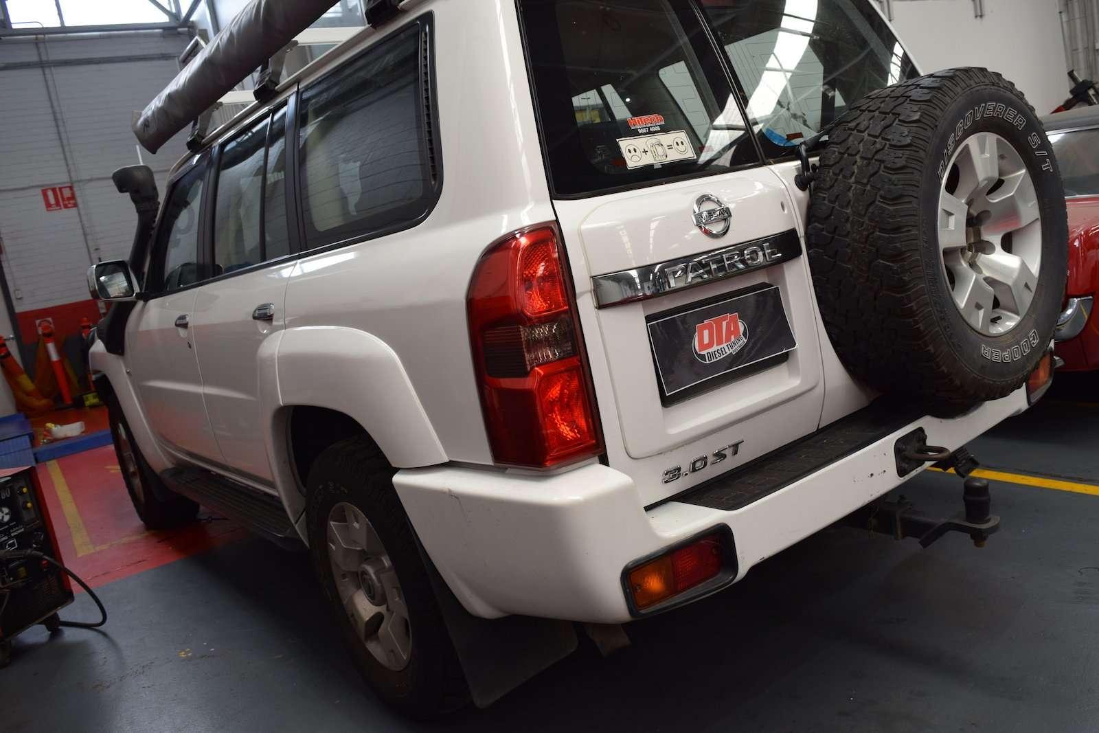 Nissan Patrol 3.0L 118 kW ECU REMAP - Diesel tuning specialist
