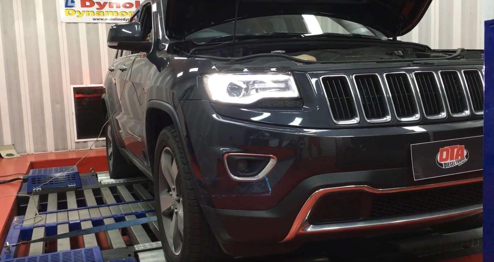Jeep Grand Cherokee 3.0L 184 kW ECU REMAP - Diesel tuning ...