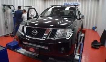 Nissan Navara 2 5L 140 kW ECU REMAP - Diesel tuning specialist