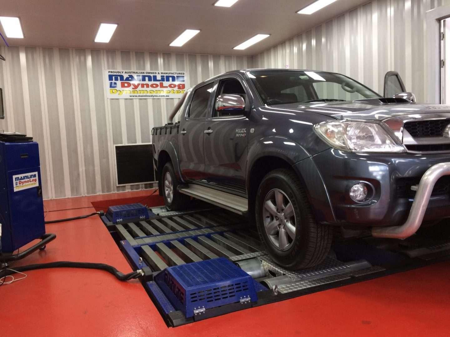 Toyota Hilux 3 0 D4D 3 0L 126 kW ECU REMAP - Diesel tuning