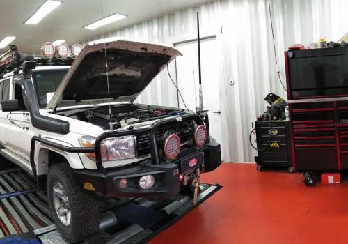 custom remap toyota landcruiser 79 series v8 performance