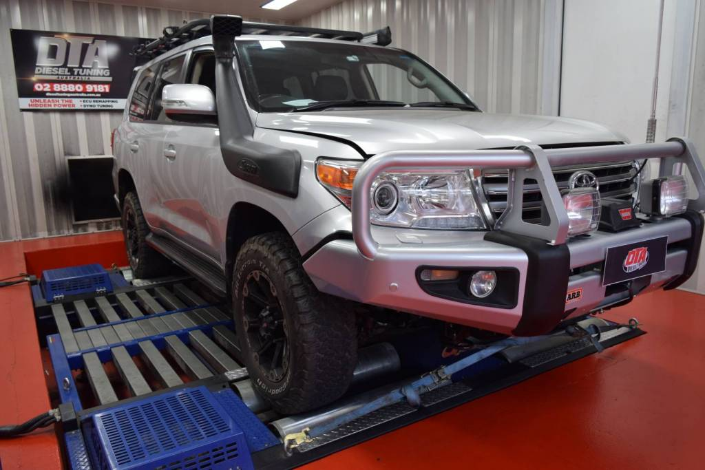 ecu remap tuning landcruiser v8