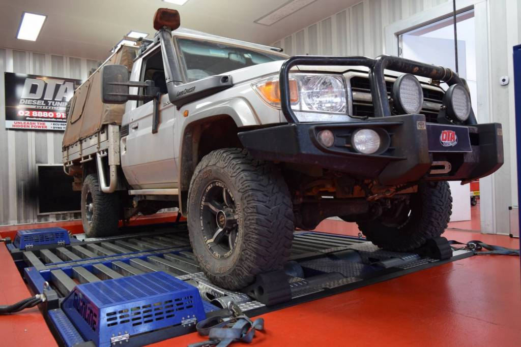 landcruiser gxl 79 2015 custom tune dyn