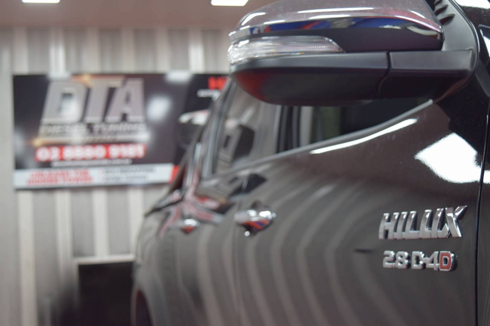 Toyota Hilux TRD 2017 2 8 dyno tuning remap - Diesel Tuning