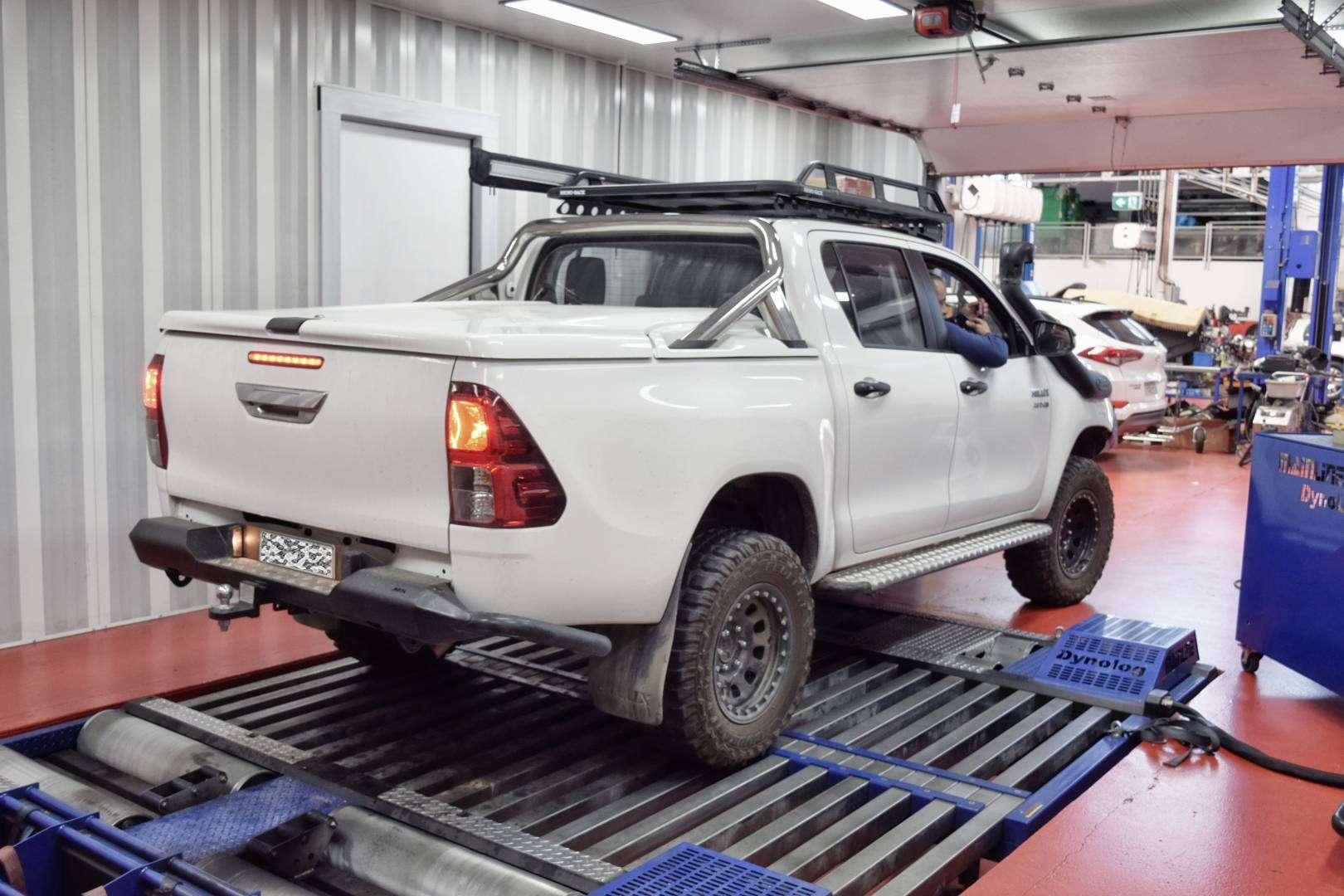Hilux 2017 D4d Auto Tuning