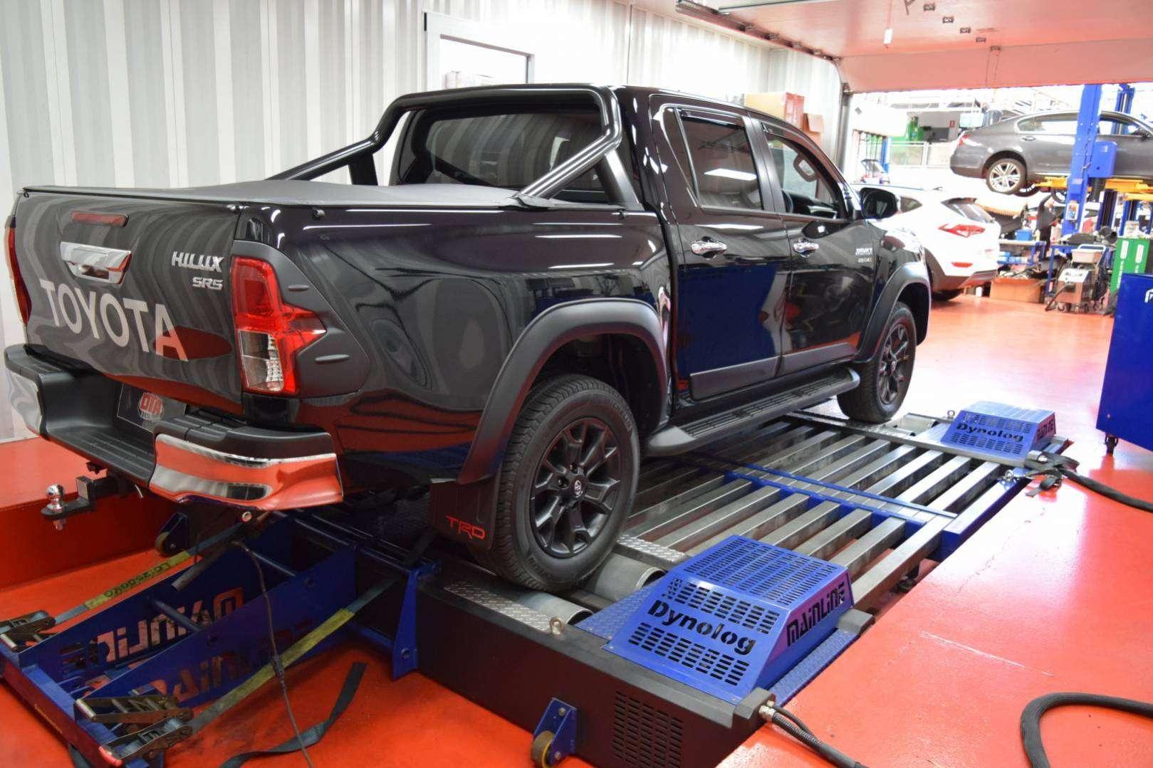 Amarok V6 Remap >> Hilux TRD 2017 ecu remap dyno - Diesel Tuning Australia
