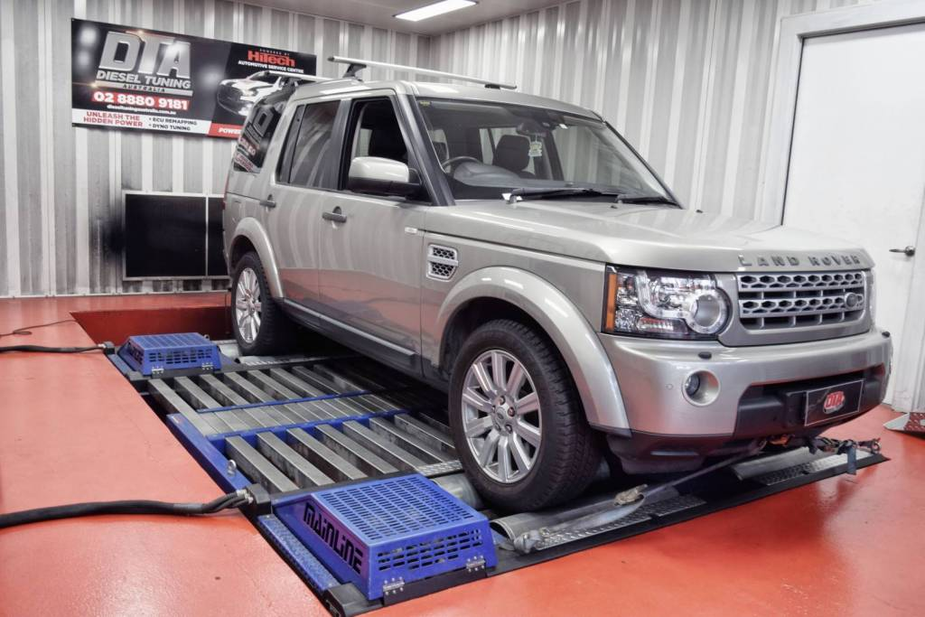 ecu remap land rover discovery 4