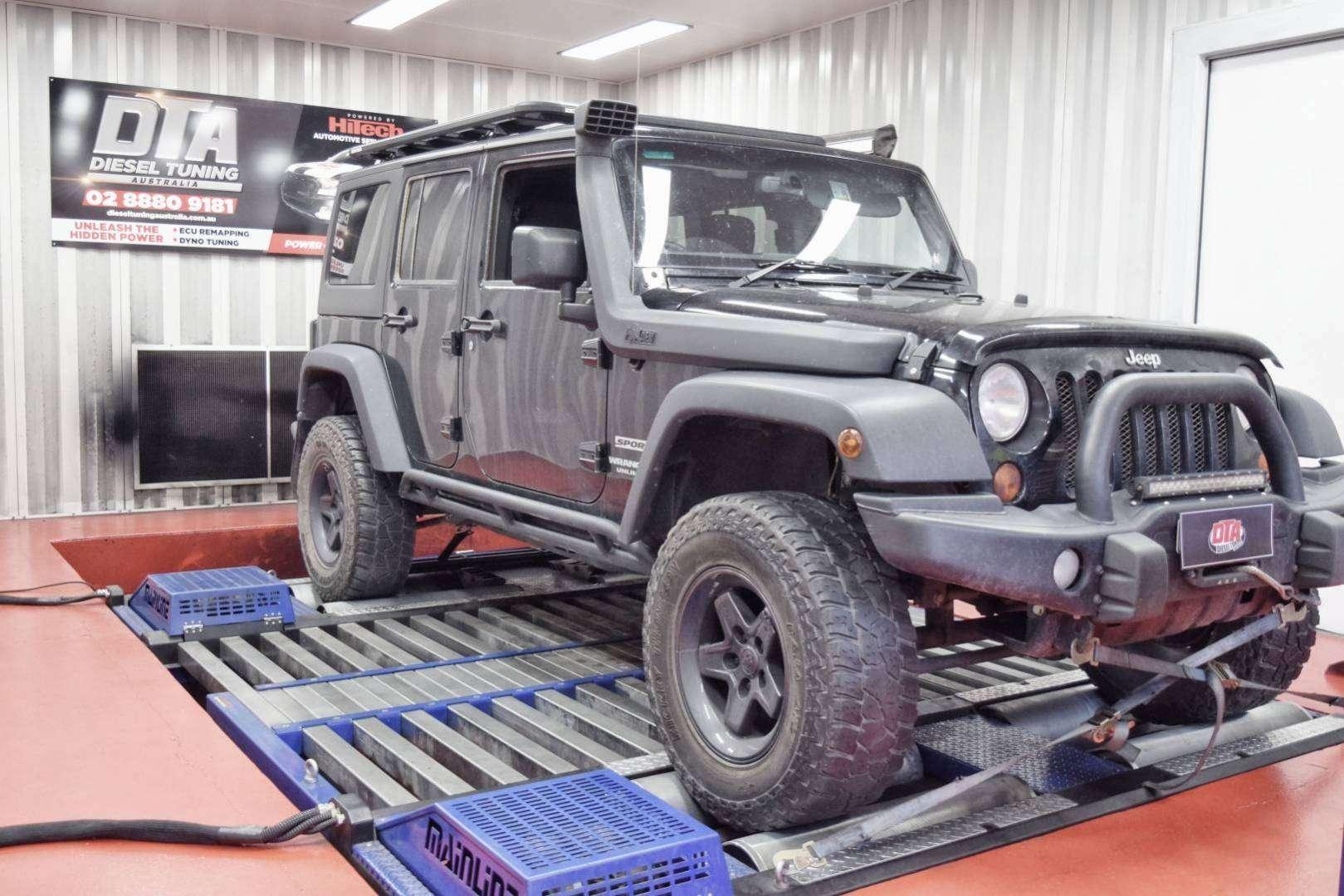 Jeep Wrangler 2 8L 147 kW ECU REMAP - Diesel tuning specialist