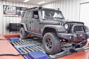 jeep wrangler 2.8 ecu remap dyno test