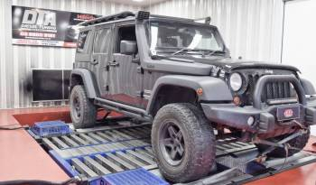 jeep wrangler 2.8 ecu remap dyno test