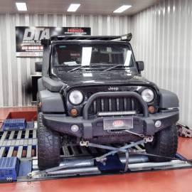 jeep wrangler auto 2012 remap dyno tune