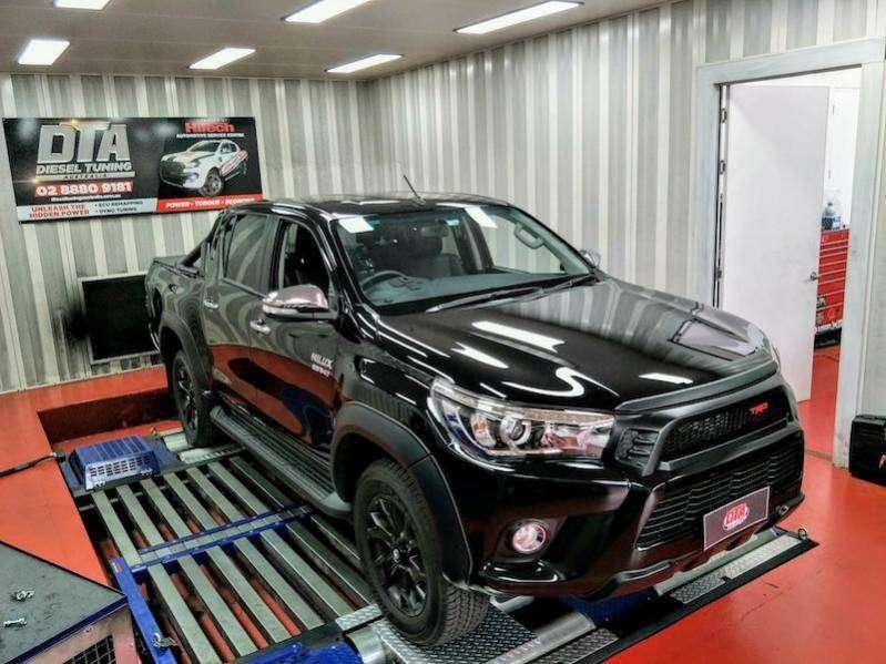 Toyota Hilux 2016 Ecu Remap Dyno